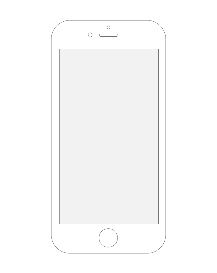 How To Create An Iphone Wireframe With Illustrator