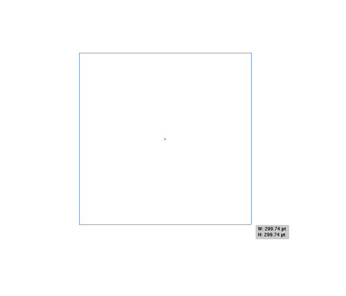 clicking and dragging to create a square