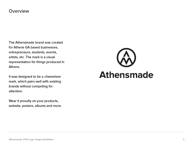 athensmade guidelines page 3