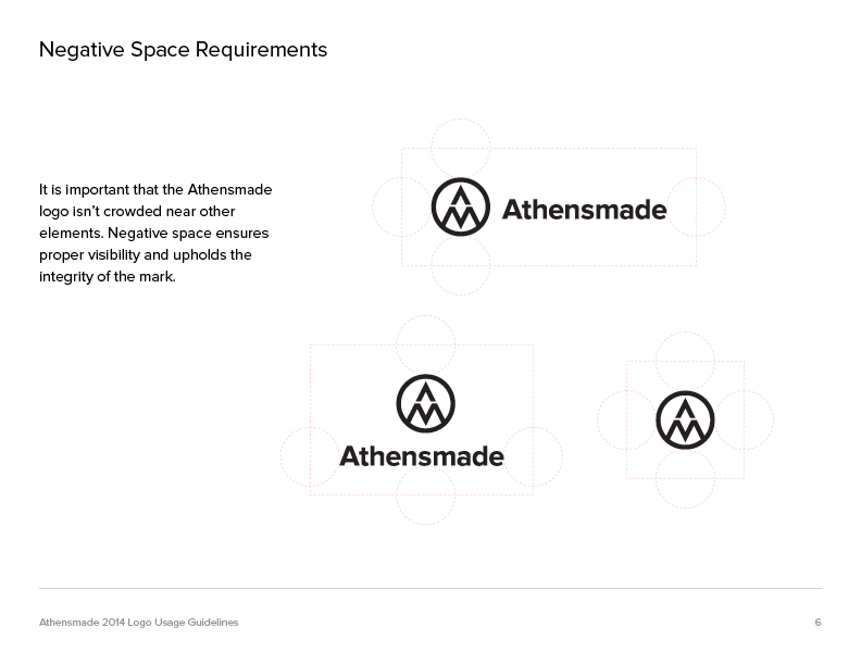athensmade guidelines page 6