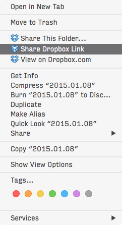 dropbox link from main review folder
