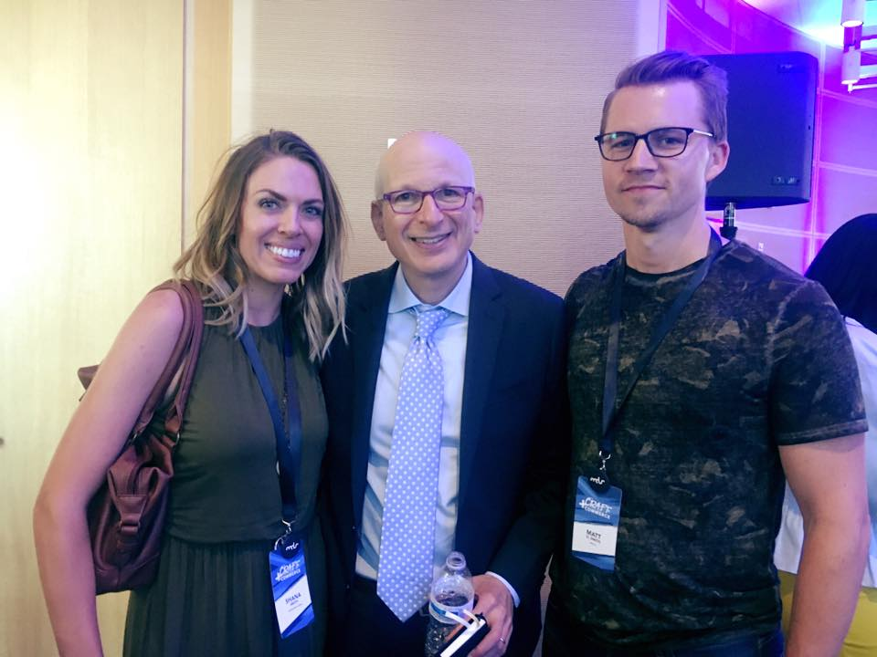 shana, seth godin, and yours truly